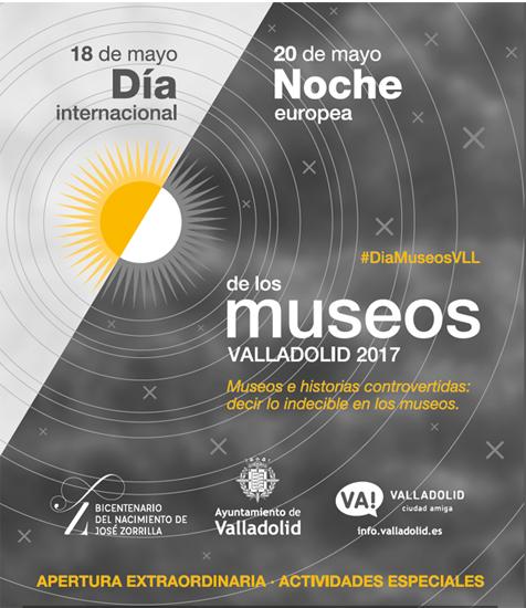 Cartel con la programación especial del Museo de la Ciencia de Valladolid.