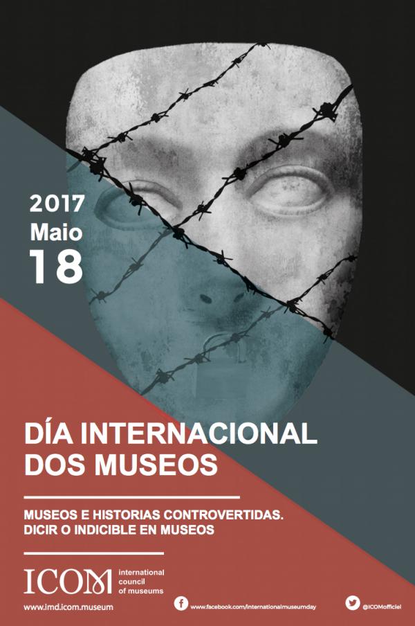 Póster del día internacional de los Museos 2017, ICOM.