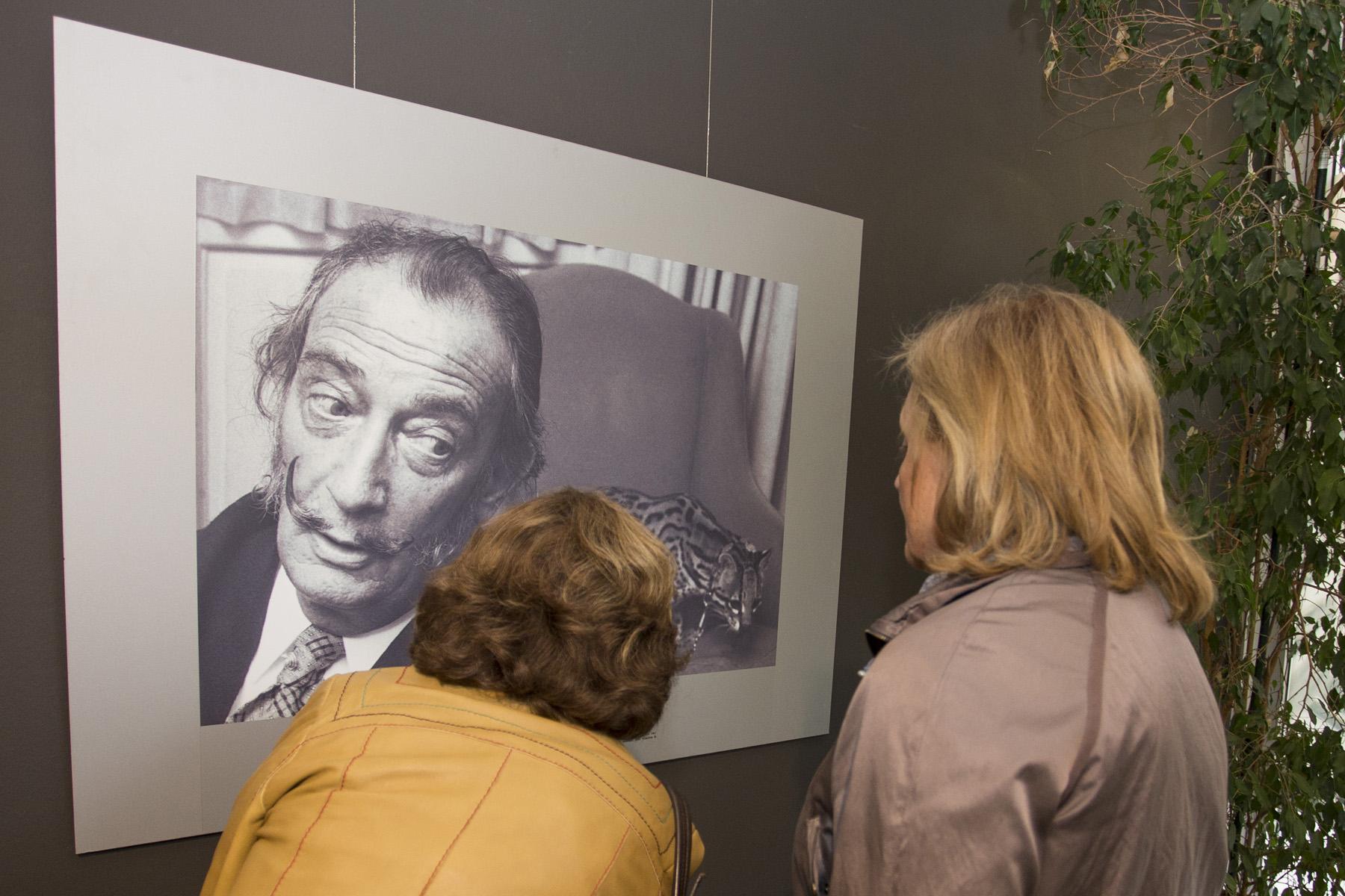 Inauguració exposició DALI a la població de Llança.
