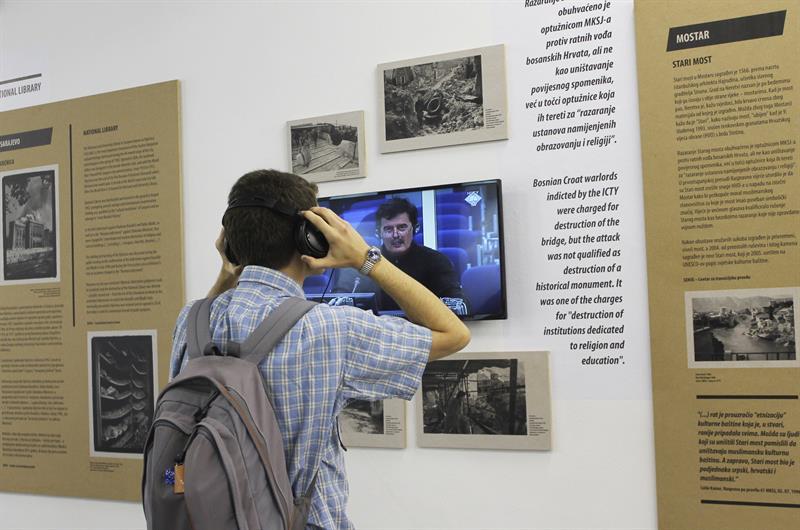 Exposición en Croacia sobre la destrucción en los 90 del patrimonio cultural en la ex Yugoslavia