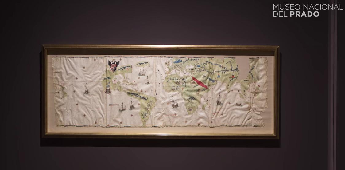 VIDEO: Obra comentada: 'Mapamundi.Tesoros de la Hispanic Society of America'