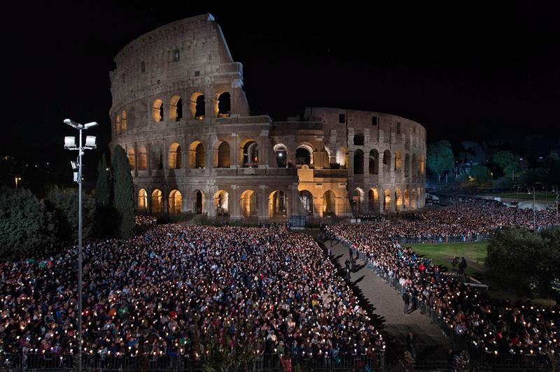 El Coliseo de Roma. EFE/Archivo