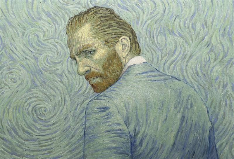 """Fotografía facilitada por la productora BreakThruFilms de un fotograma de la película de animación """"Loving Vincent"""". EFE"""
