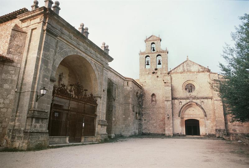 Iglesia del monasterio de San Juan de Ortega en Burgos.