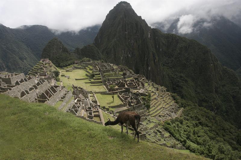 Vista general de la ciudadela Machu Picchu. EFE