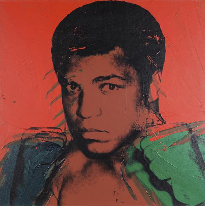 """Muhammad Ali"" de Andy Warhol. Tate Modern, Londres."