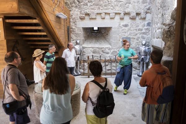 Visita al castillo de Montemayor del Río