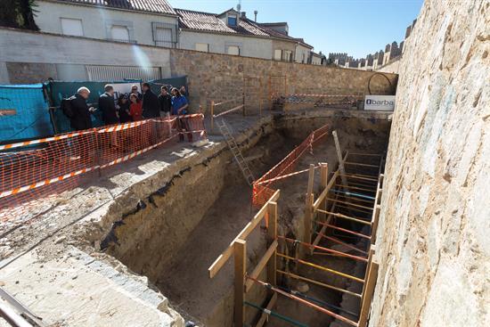 Excavación arqueológica en Ávila
