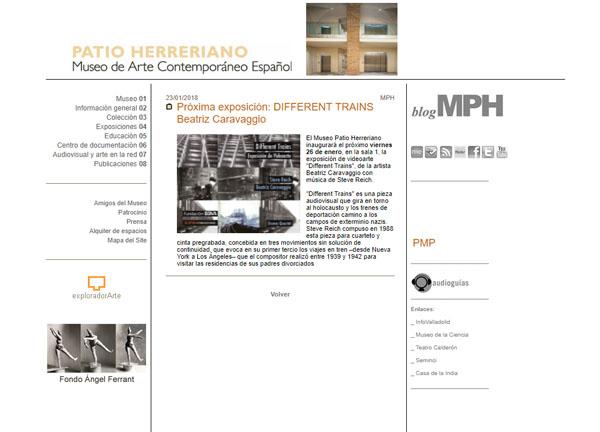 Proyección en Patio Herreriano