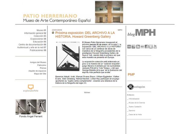 Expo fotos Patio Herreriano