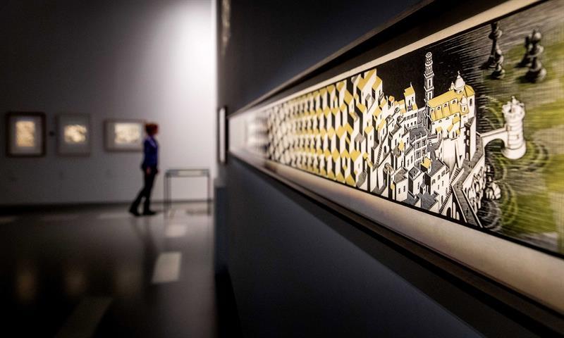 Exposición Escher, Museo de Frisia, Holanda
