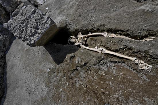 esqueleto Pompeya, EFE