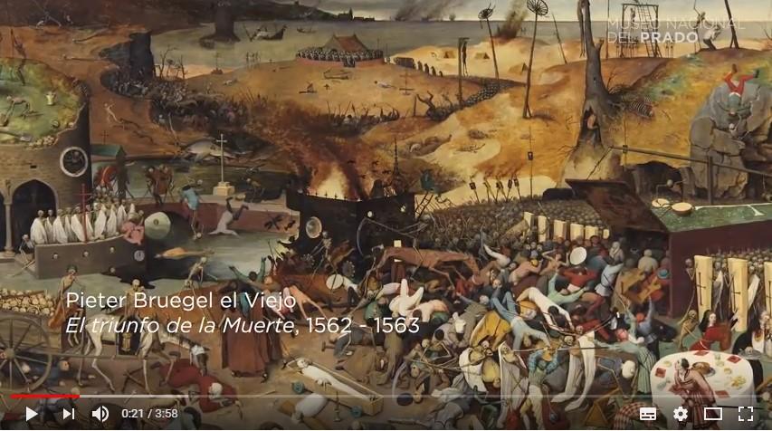 Fotograma del vídeo del Museo del Prado