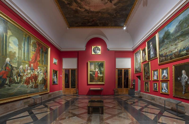 Vista de la sala 39 del Museo Nacional del Prado
