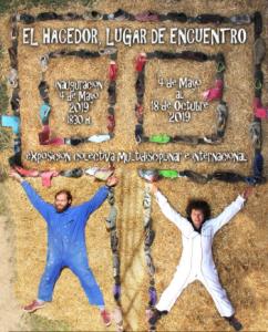 """Cartel de una de una de las exposiciones de """"Imágenes y Palabras"""""""