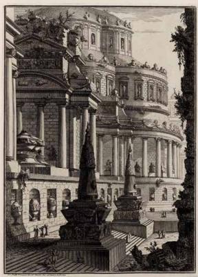Grabado de Giovanni Battista Piranisi
