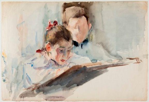 El Museo Sorolla muestra por primera vez más de 100 dibujos del pintor valenciano