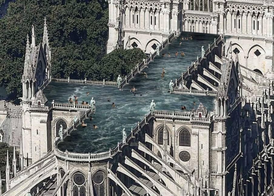 UN HÉROE MODERNO. Notre Dame y la figura del arquitecto