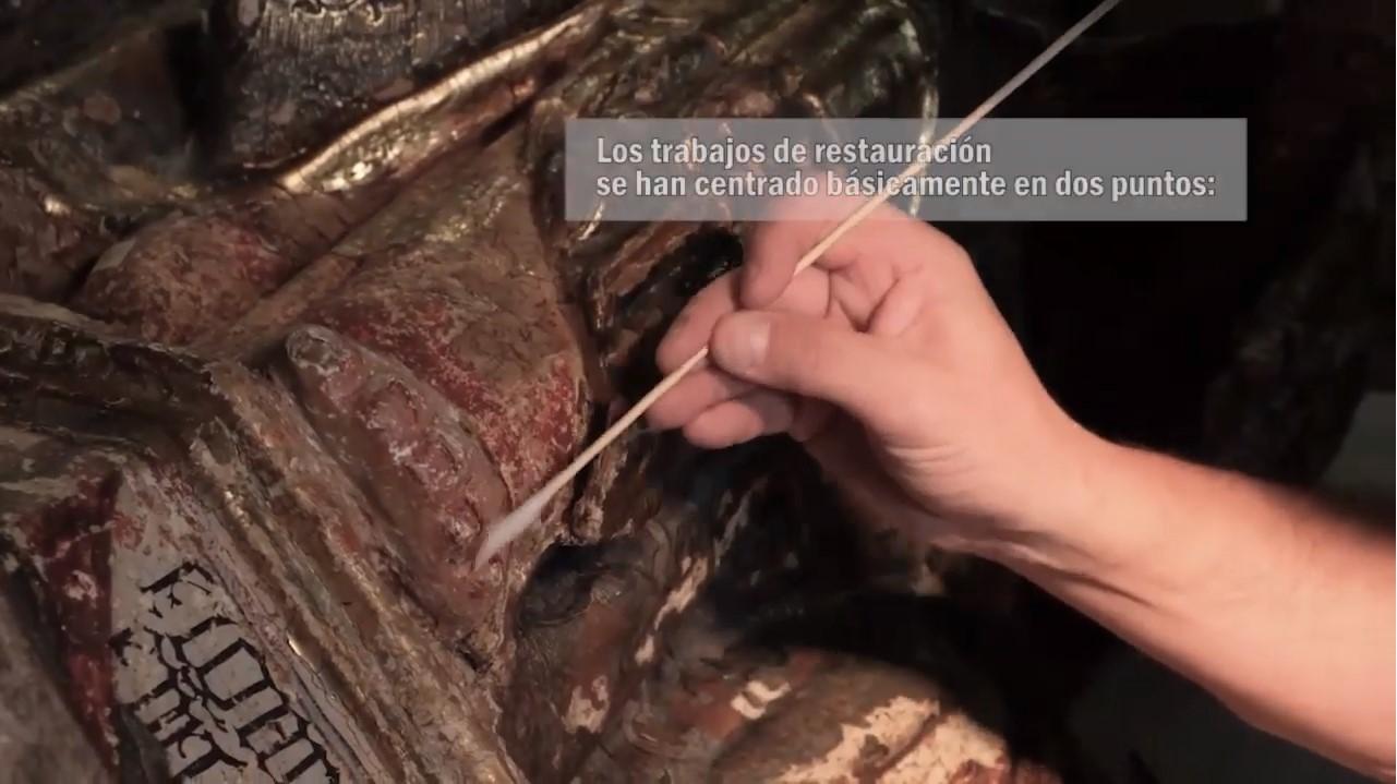 VÍDEO: Exposición de una talla del S.XIII en la Catedral de Segovia
