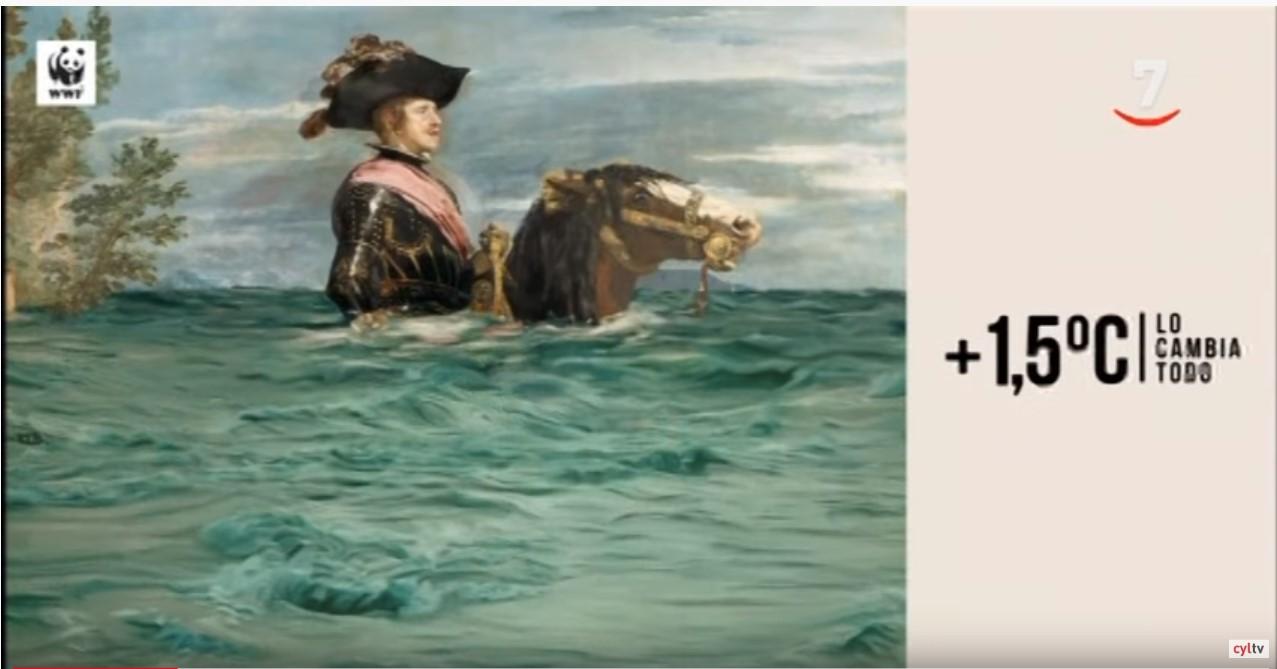 VÍDEO: WWF y el Museo del Prado se alían para sensibilizar sobre el Cambio Climático