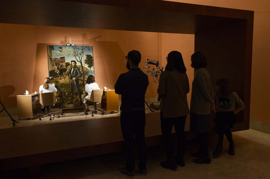 El Thyssen permite seguir en directo la restauración de una de sus obras más emblemáticas