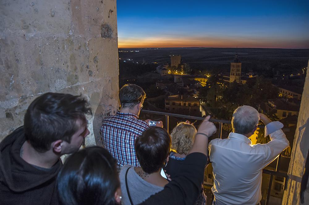 La visita guiada a la torre de la Catedral de Segovia, ahora también en inglés