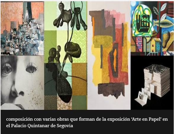 'Arte en papel' en el Palacio Quintanar de Segovia