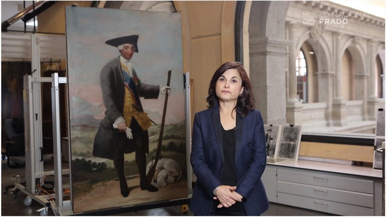 VÍDEO: La técnica de Goya en la obra: Carlos III cazador
