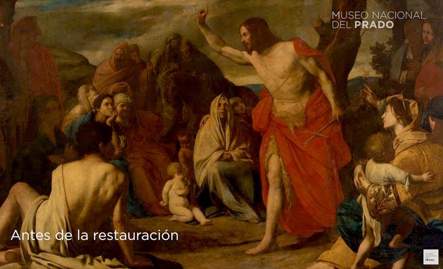VÍDEO: Predicación del Bautista en el desierto, de Stanzione