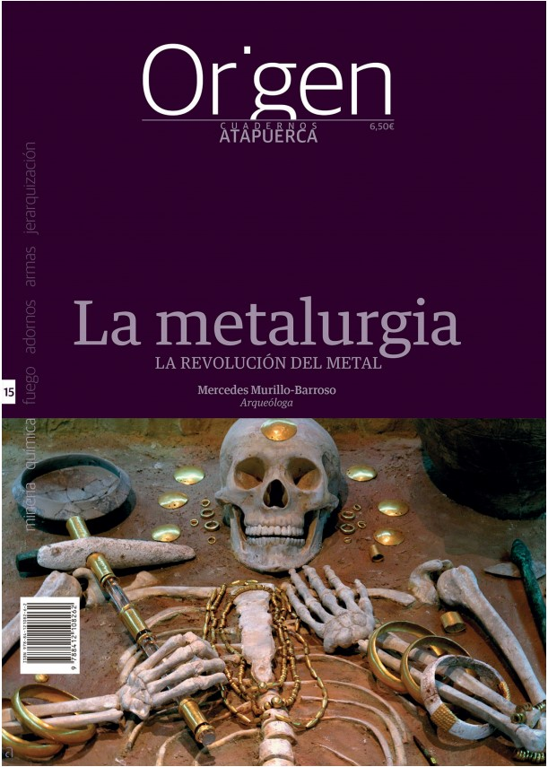 La revolución del metal, un nuevo cuaderno de Atapuerca, de la serie Origen
