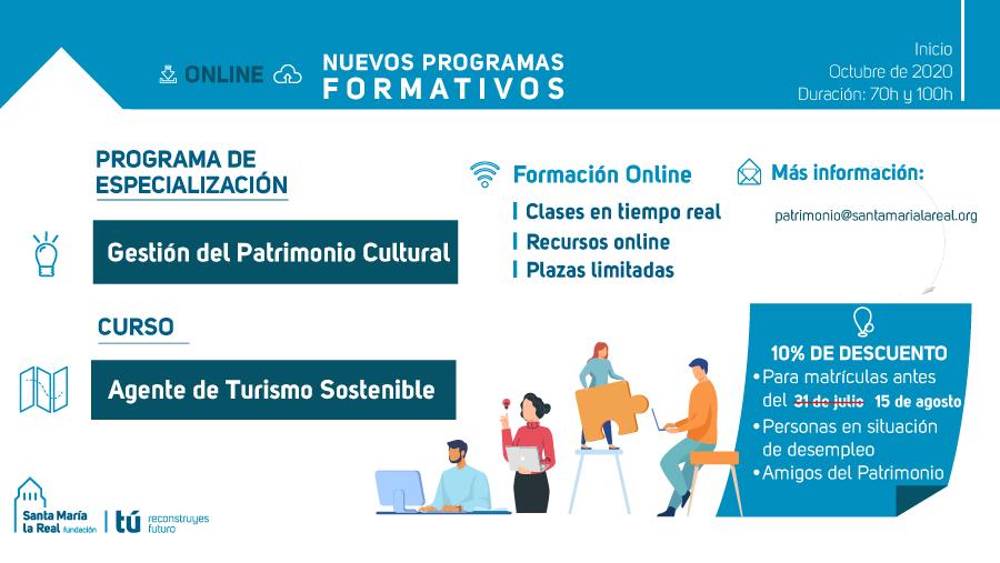 Formación Online especializada en turismo y patrimonio