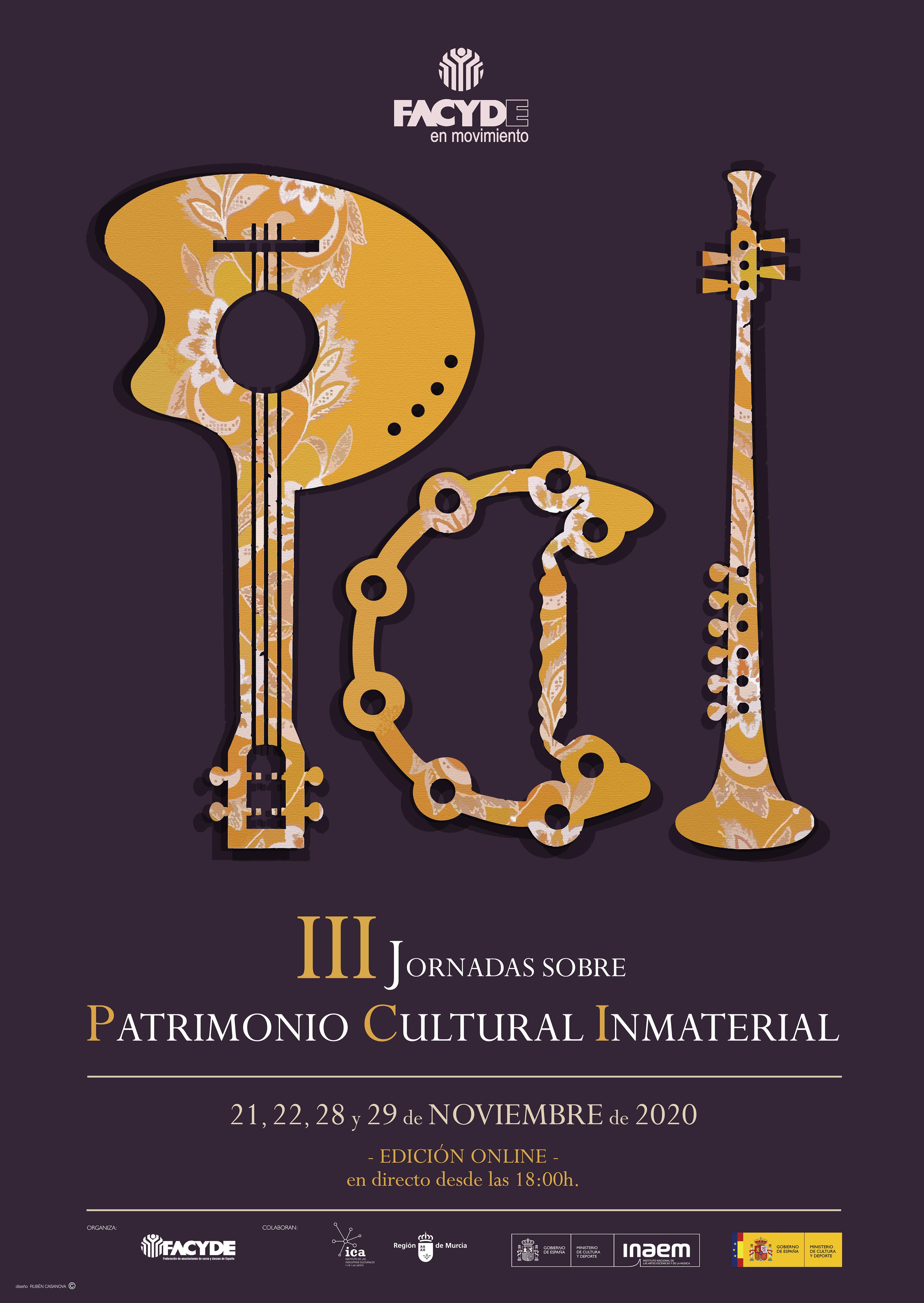 III JORNADAS SOBRE PATRIMONIO CULTURAL INMATERIAL