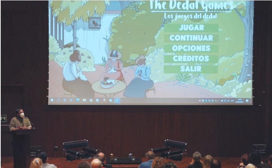 El Museo Nacional Thyssen-Bornemisza y la Fundación Iberdrola España presentan el videojuego inclusivo The Dedal Games