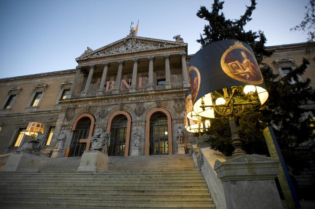 Biblioteca Nacional España- web BNE- 09072013